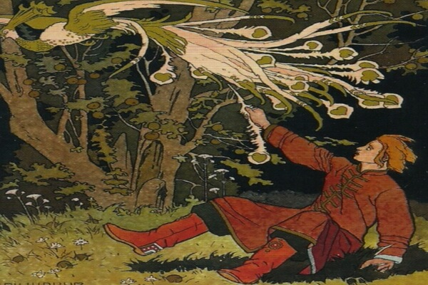 Иллюстрации Ивана Билибина к сказкам - «Иван-царевич и Жар-птица» (1899)