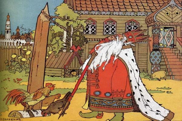 Иллюстрации Ивана Билибина к сказкам - «Жил-был царь» (1900)
