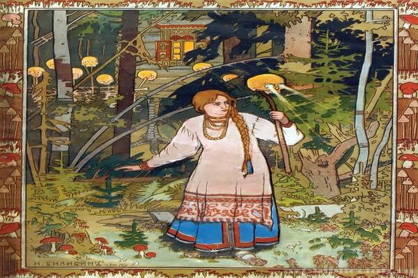 Наиболее известные иллюстрации Ивана Билибина к сказкам