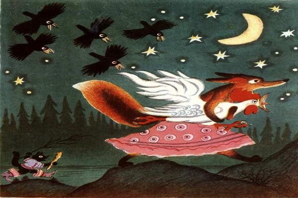 Сказочные иллюстрации Юрия Васнецова