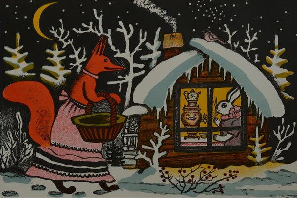 Наиболее известные иллюстрации Юрия Васнецова к сказкам