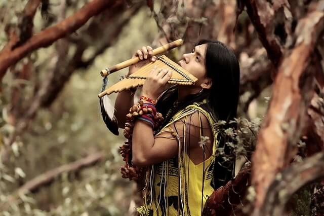 Индейская этническая музыка - её история и особенности звучания