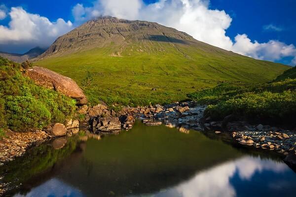 Пейзажи острова Скай в Шотландии - красивые фото