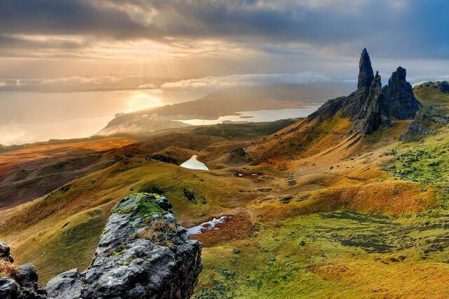 Остров Скай в Шотландии - описание, легенды, достопримечательности