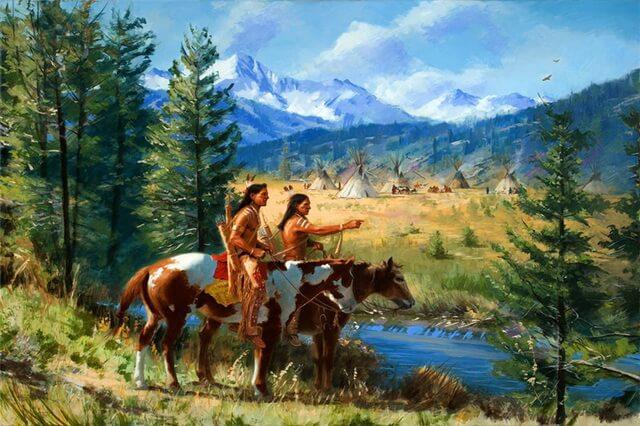 Исторические романы про индейцев - лучшие книги