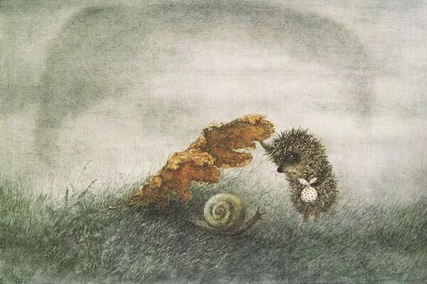 Особенности создания мультфильма «Ёжик в тумане»