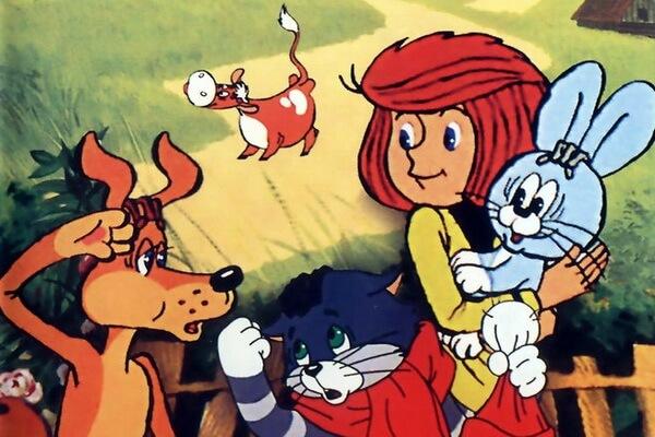 История советских мультфильмов про Простоквашино