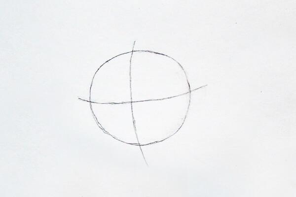 Как нарисовать Джуди Хопс пошагово - шаг 1