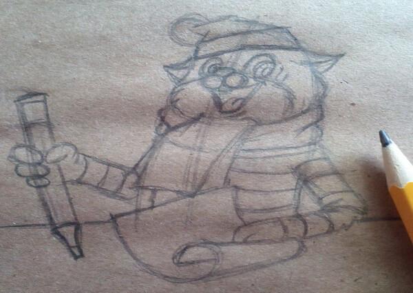 Как нарисовать кота Матроскина поэтапно - шаг 7