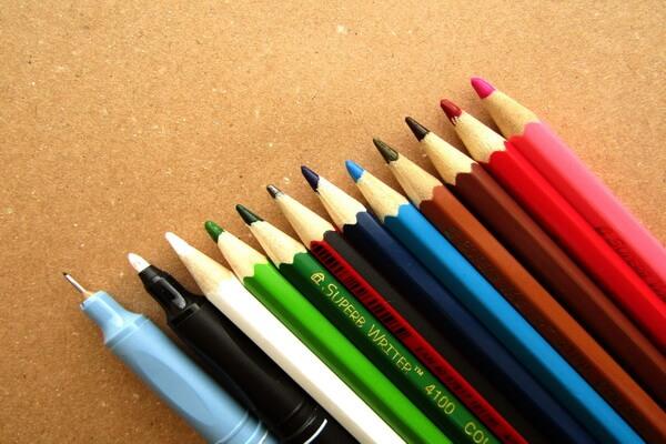Как нарисовать красивую розу - инструменты и материалы