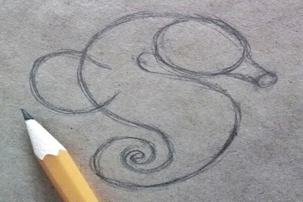 Как нарисовать морского конька поэтапно - шаг 3
