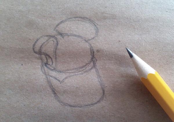 Как нарисовать попугая Кешу поэтапно - шаг 2