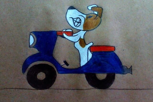 Как нарисовать собаку из мультфильма «Рекс» - урок рисования поэтапно