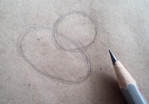 Как нарисовать собаку из мультика поэтапно - шаг 1