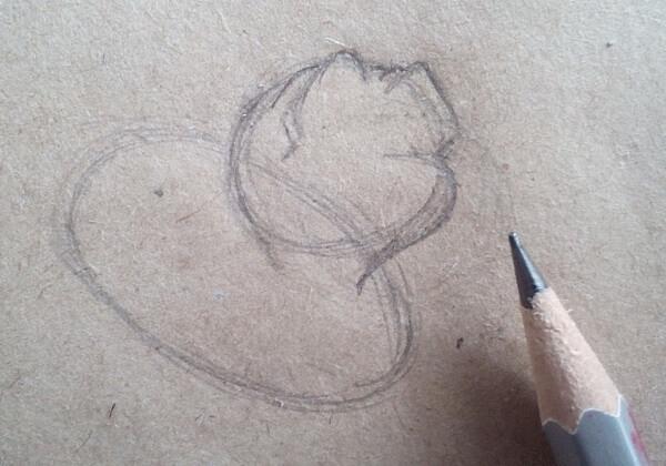 Как нарисовать собаку из мультика поэтапно - шаг 2