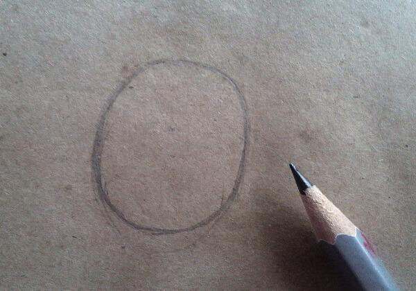 Как нарисовать Водяного поэтапно - шаг 1