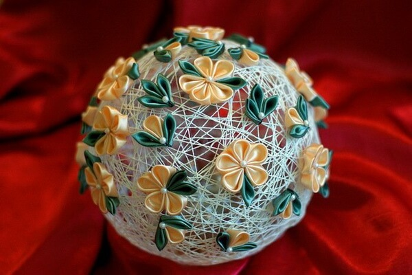 Как сделать красивые ёлочные шары своими руками - интересные идеи с фото для вдохновения