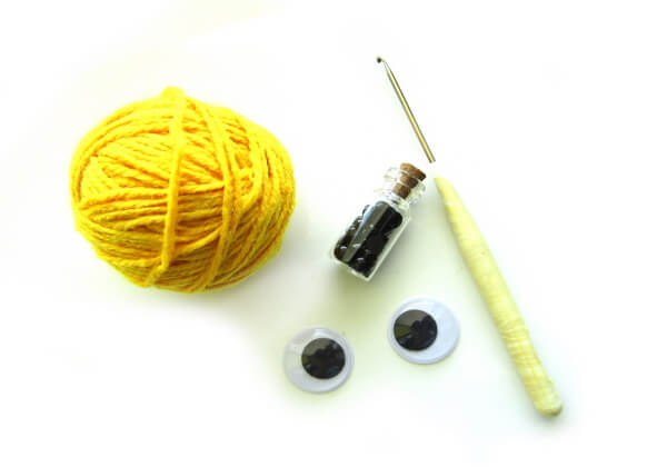 Как связать свинку крючком - материалы и инструменты