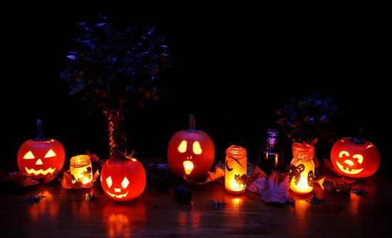 Декор дома на Хэллоуин - Фонарь Джека