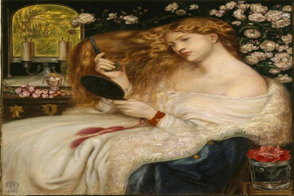 Картины Данте Габриэль Россетти с описанием - «Леди Лилит»