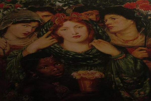 Картины Данте Габриэль Россетти с описанием - «Возлюбленная»