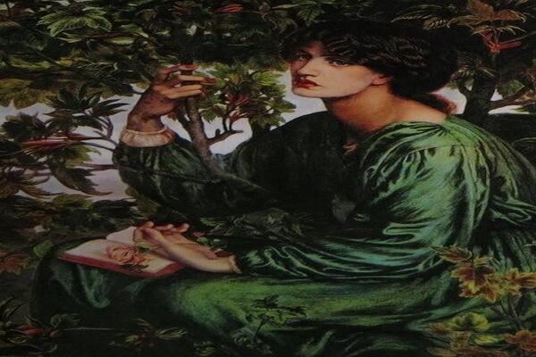 Картины Данте Габриэль Россетти с описанием - «Сон наяву»