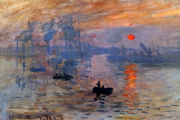 Картины моря известных художников с названиями и описанием - Клод Моне — «Впечатление. Восход солнца»