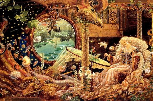 Художница Кинуко Крафт и её иллюстрации к сказкам