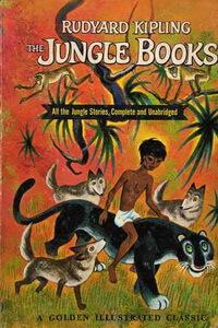Книги про животных для детей - «Книга джунглей», Редьярд Киплинг