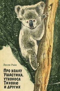 Лучшие книги про животных для детей - «Про коалу Ушастика, утконоса Тихоню и других», Лесли Риис