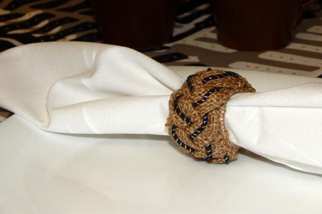 Кольца для салфеток своими руками - пошаговый мастер-класс
