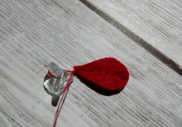 Косметичка из фетра своими руками пошагово - шаг 14