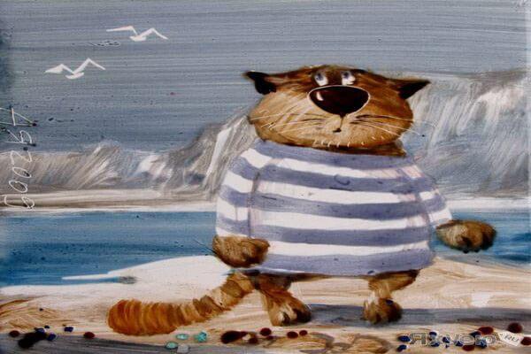 Коты в творчестве Анатолия Ярышкина