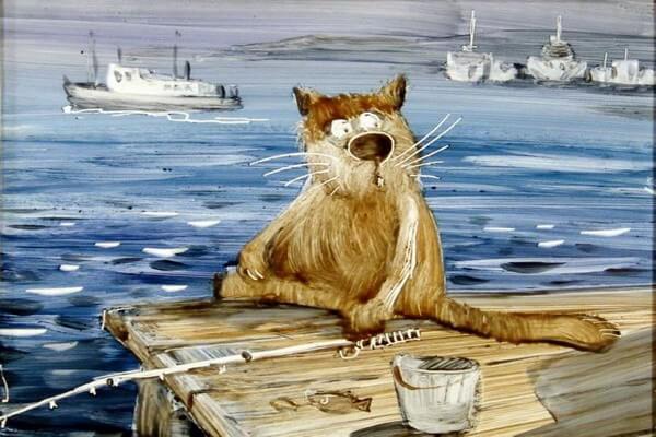 Севастопольские коты Анатолия Ярышкина