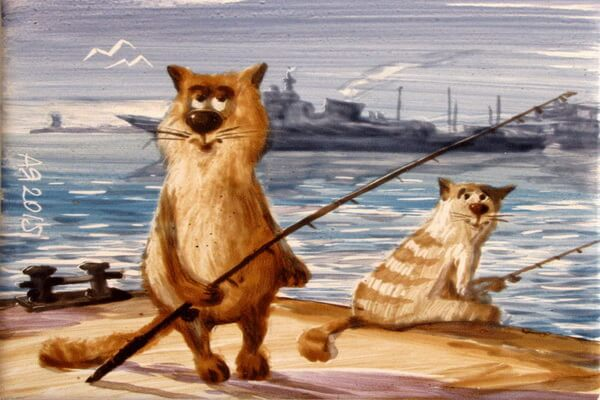 Картинки котов Анатолия Ярышкина