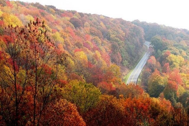 Красивые осенние пейзажи с фото для вдохновения - Горы осенью
