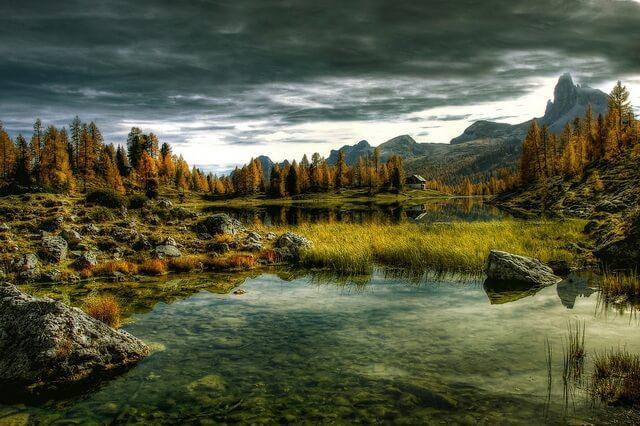 Красивые картинки осенних пейзажей гор для вдохновения