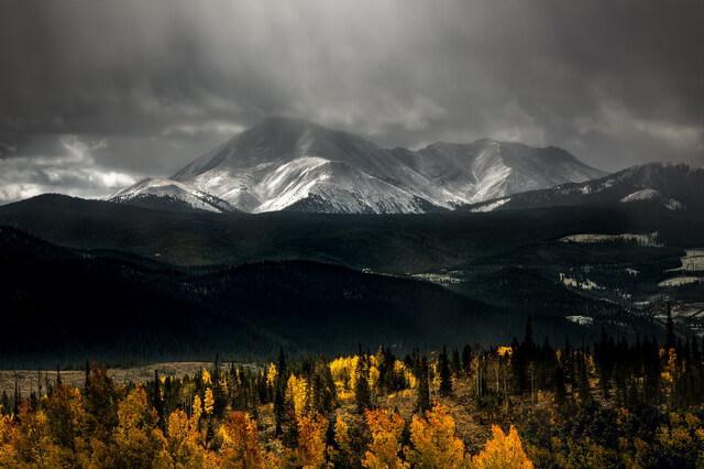 Красивые осенние горные пейзажи для вдохновения