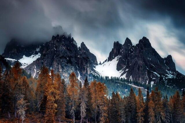 Величие гор - Красивые осенние пейзажи