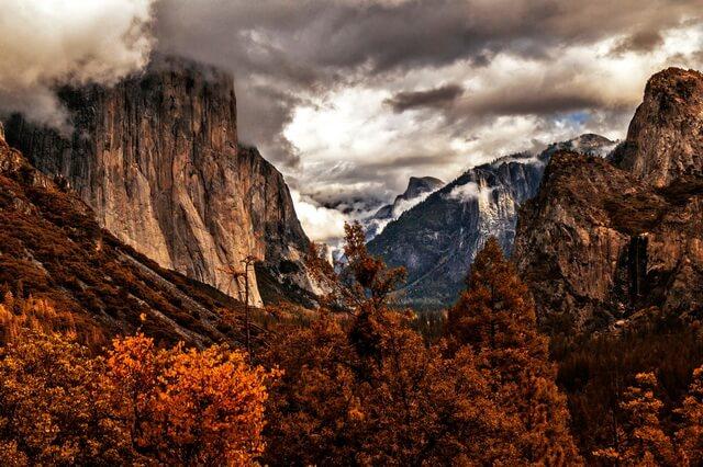 Величие гор осенью - Красивые осенние пейзажи
