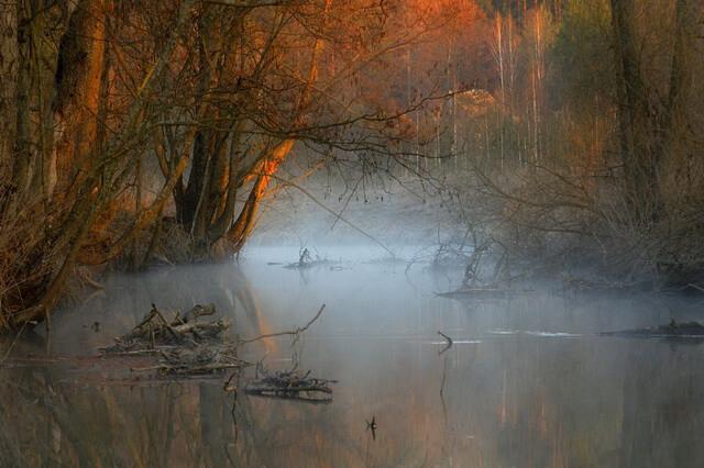 Красивые фото осенних пейзажей