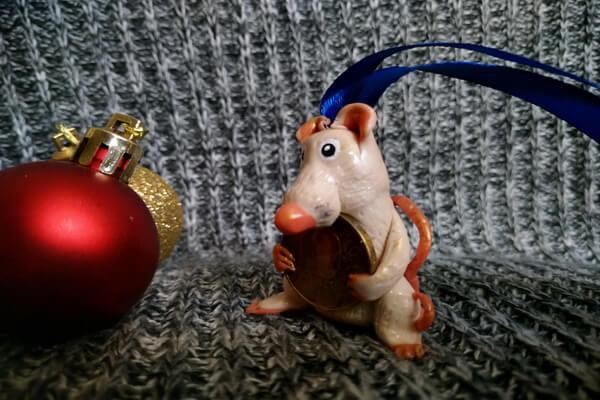 Крыса из полимерной глины - мастер-класс - шаг 10