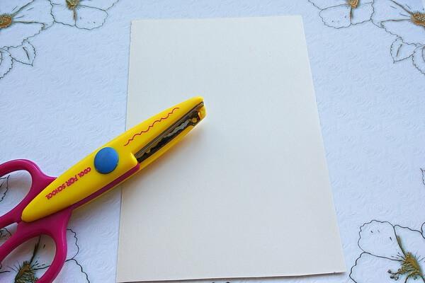 Летняя открытка своими руками пошагово - шаг 1