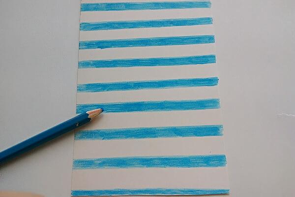 Летняя открытка своими руками пошагово - шаг 2