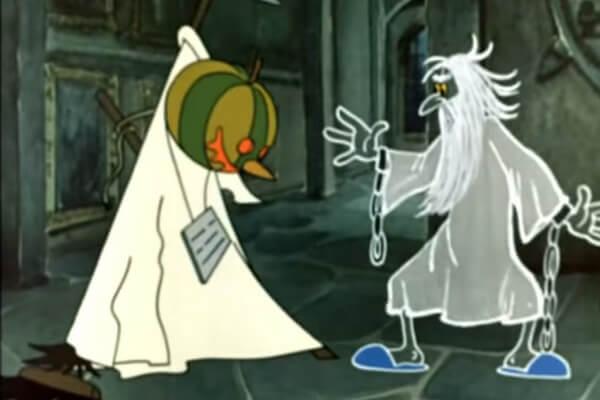 Лучшие мультфильмы на Хэллоуин - Кентервильское привидение (1970)
