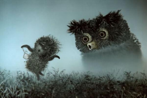 Лучшие мистические мультфильмы - Ёжик в тумане