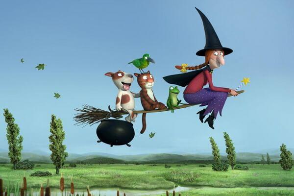 Лучшие мультфильмы на Хэллоуин - Место на метле (Верхом на помеле)