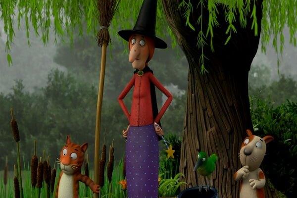 Лучшие мультфильмы на Хэллоуин - Место на метле