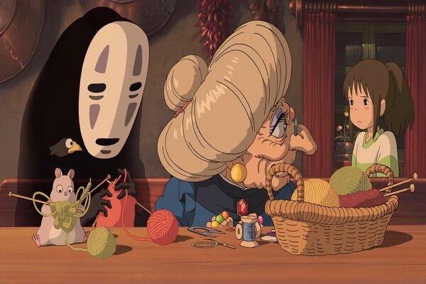 Лучшие мультфильмы на Хэллоуин - Унесённые призраками