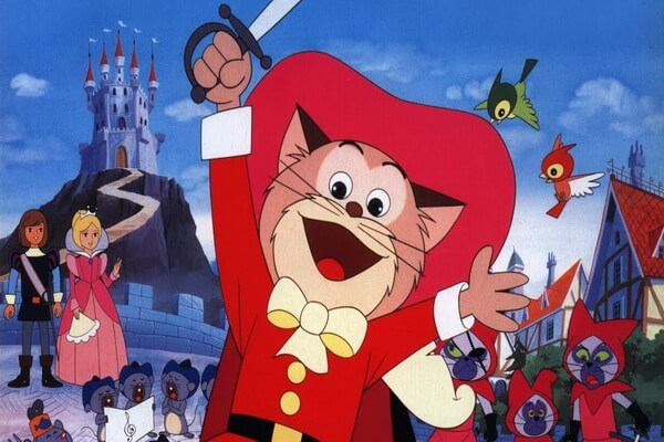 Лучшие мультфильмы на Хэллоуин - Кот в сапогах (японкое аниме, 1969 г.)
